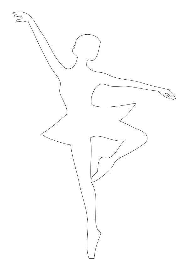 Балерина из бумаги своими руками схемы
