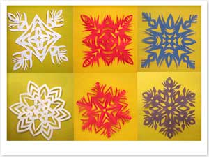 Поделки на новый год своими руками снежинка видео