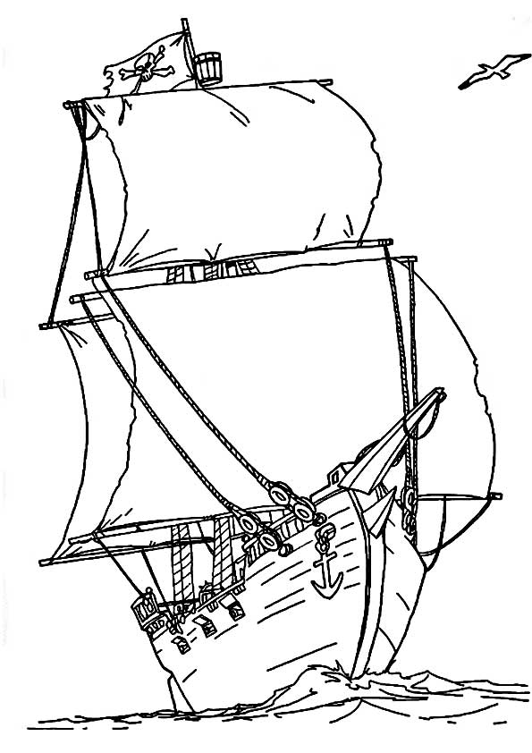 шаблон лодки салтана