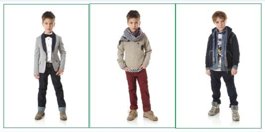 В отличии от предыдущих дизайнеров, детская одежда John Galliano пропитана духом активности и молодости. В последней коллекции бренда сделан акцент на