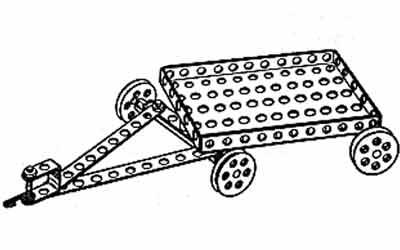 металлический конструктор примеры моделей