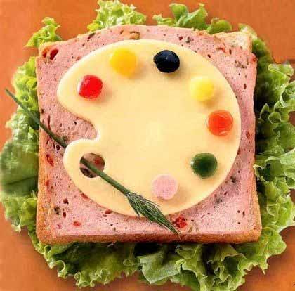 Делаем своими руками бутерброды 46