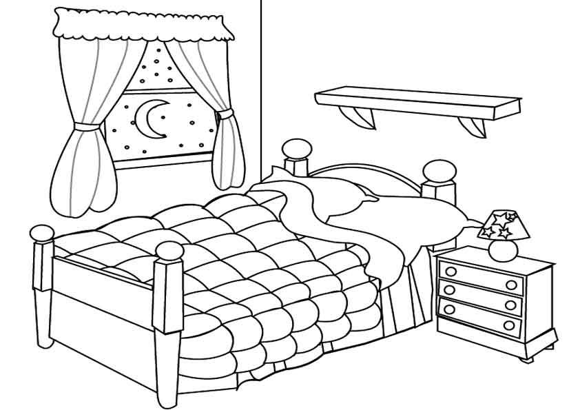 Картинка комната с мебелью