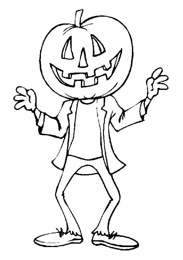 Хэллоуин раскраски страшные 27