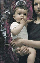 Пассивное курение детей