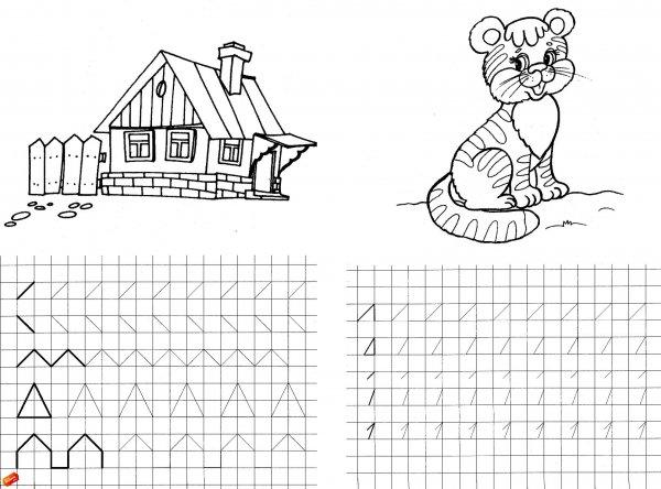 Цифра 7 раскраски для детей