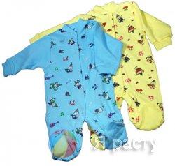 Из какой ткани шьется одежда для новорожденных