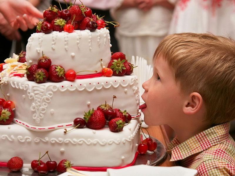 Торты на свадьбу ребенку