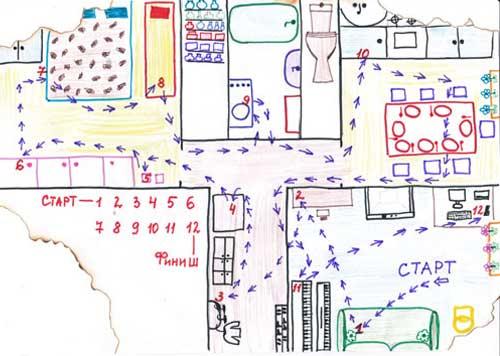Как сделать карту своего двора