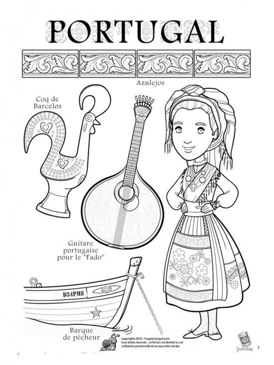 Картинки раскраски русского костюма