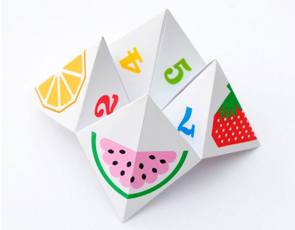 Оригами гадалка