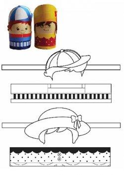 Подставки под крашенные яйца