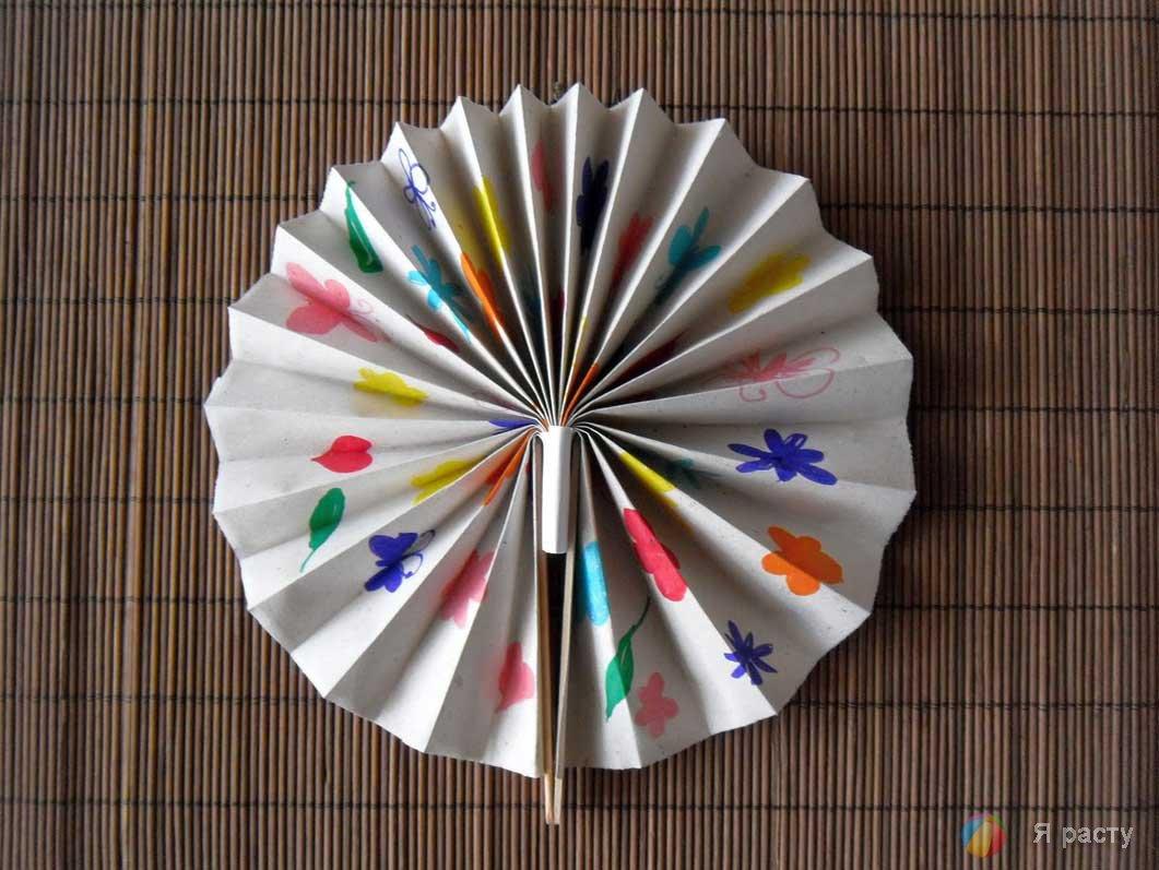 Бумажные поделки японцев