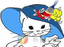 Новые раскраски с котятами
