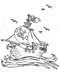 Пиратские корабли