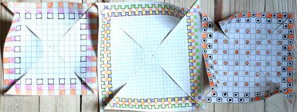 орнаменты для вертушки из бумаги