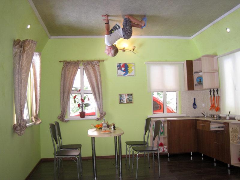 Дом вверх дном