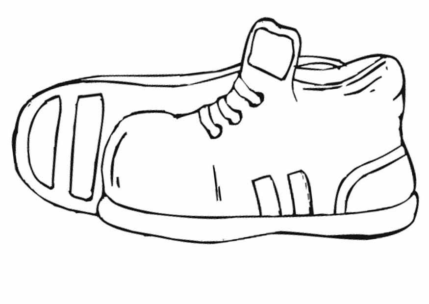раскраски для детей обувь туфли кроссовки ботинки тапки