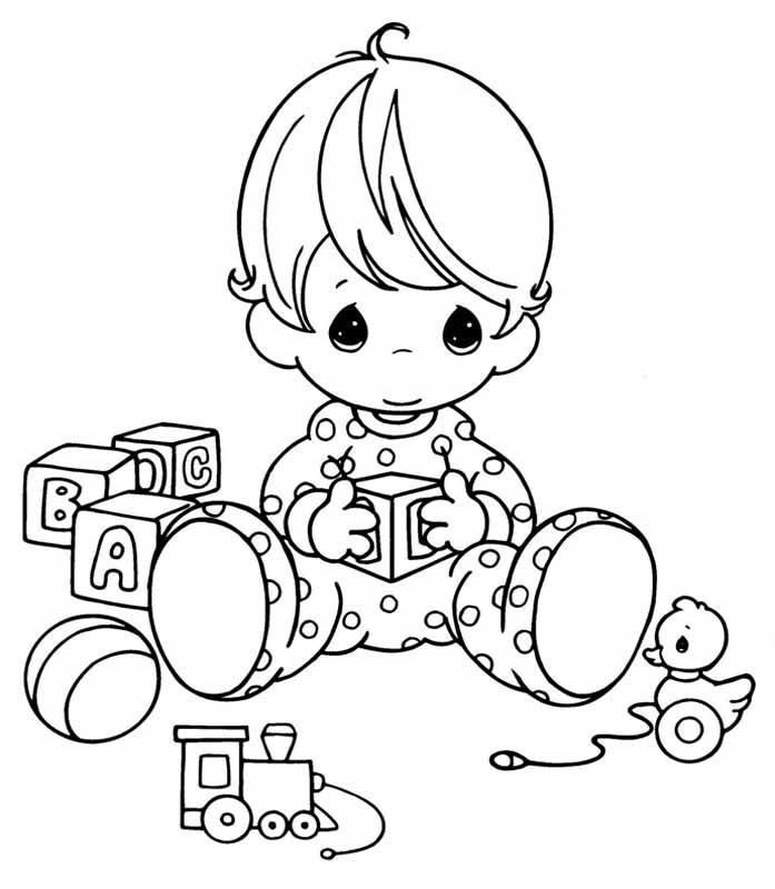 ребенку о правах ребенка раскраска