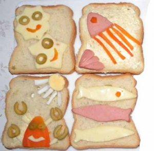 Бутерброды просто так