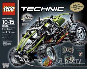 Lego Technic – создай свой уникальный автомобиль