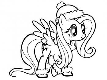 Мой маленький пони. Раскраски