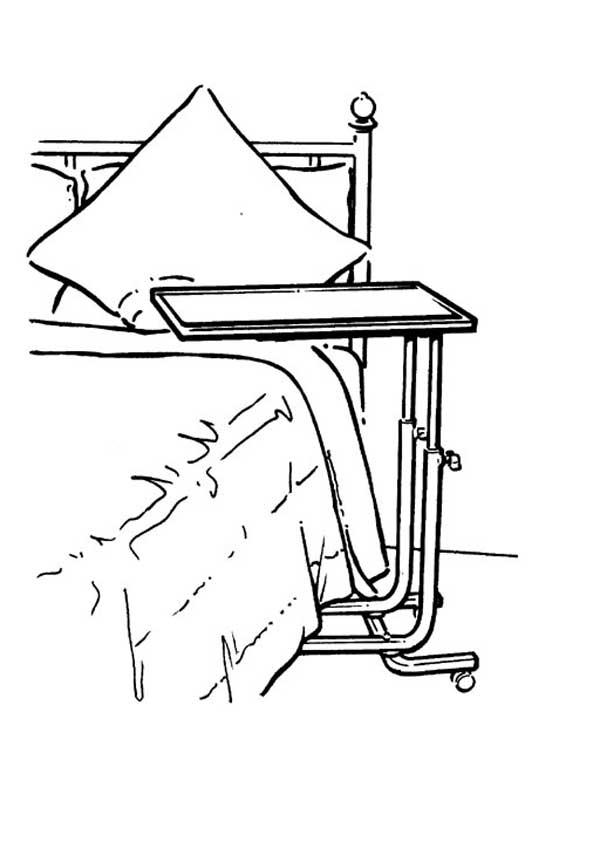 Стол. Раскраска
