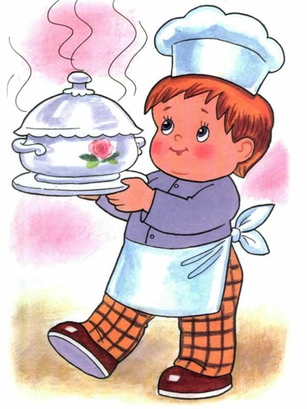картинки повара.для детей