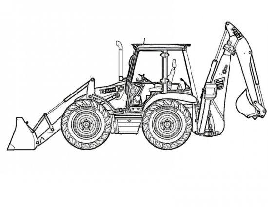 Картинка каток машина для детей