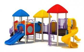 Уличные детские площадки - волшебный мир для ребенка