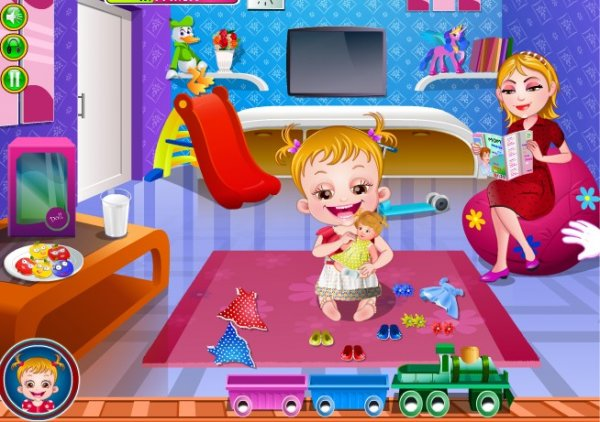 Игры для девочек от малышки Хейзел