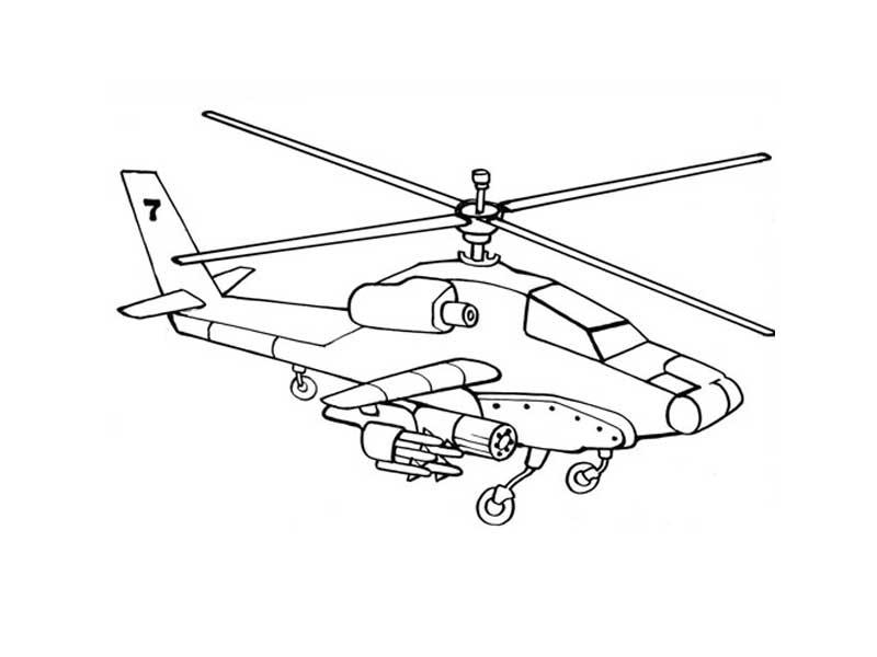 Самолеты и вертолеты. Военная техника. Раскраски для мальчики