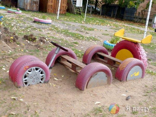 Что можно сделать из старых шин