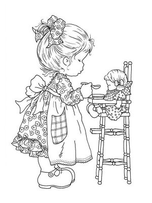 Раскраски от Сары Кей