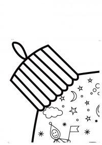 Елочный шар. Гигантская раскраска
