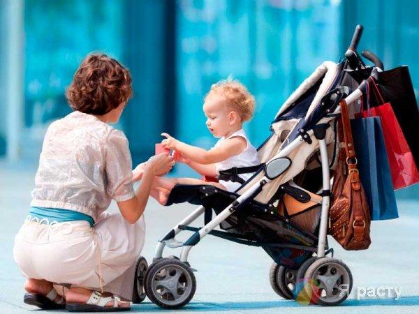 Коляска с ребенком