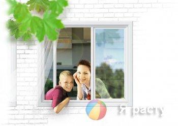 Окна с детскую