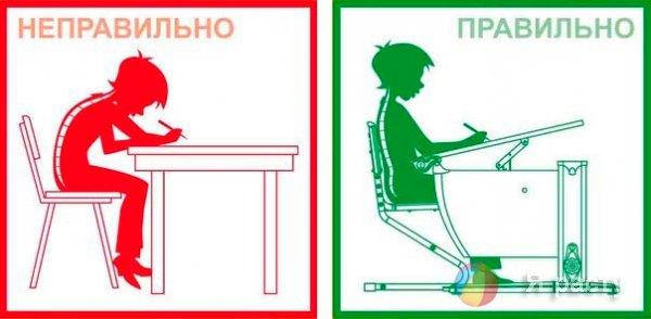 Школьная мебель  - правила выбора