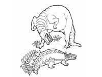 Цифры формата А4. Цифры для раскрашивания или оформления ... Раскраски Хищные Динозавры
