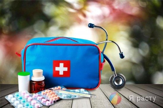 Детская аптечка от 3 лет