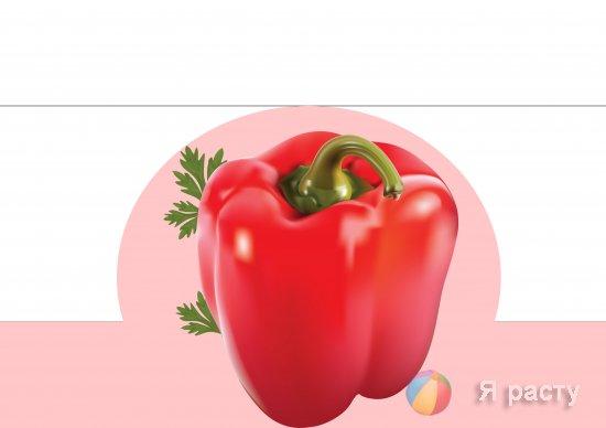 маски-ободки на голову с изображением  овощей