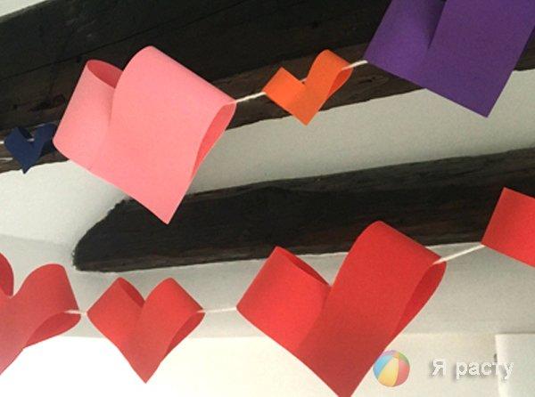 Сердце цветок на день святого Валентина